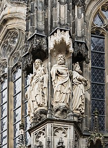 Decoration Of Choir Aachen Cathedral Germany 1355 1414