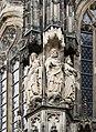 Trois statues, cathédrale, Aix-la-Chapelle, Allemagne.jpg