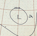Tropical Storm Seven analysis 11 Oct 1899.png