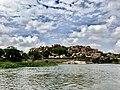 Tungabhadra river from Anjeneya Temple.jpg