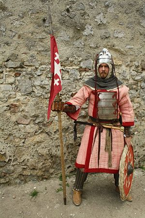 Turcopole -  Historical reconstruction of a 12th century turcopole by a Slovak re-enactor