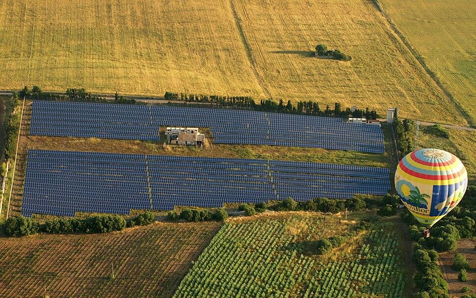 Turisme de parcs fotovoltaics