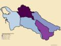 Turkmenistan Provinces by Population Density.png