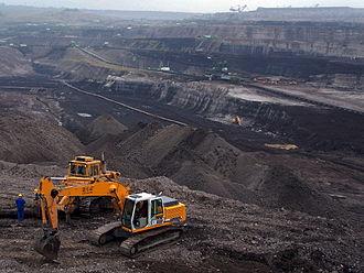 Black Triangle (region) - the Turów Coal Mine, southern Poland