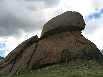 Gorkhi-Terelj National Park - Turtle Rock