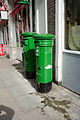 Two Irish pillar boxes on MacCurtain Street, Cork.jpg