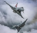 Two Typhoon FGR4 aircraft, flown by 29 (R) Squadron from RAF Coningsby MOD 45164130.jpg