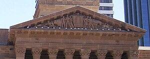 Daphne Mayo - The Brisbane City Hall tympanum