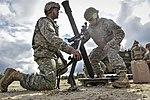 U.S. Army Soldiers Prepare to Fire 81mm Mortar at Yukon Training Area near Fort Wainwright, Alaska, July 23, 2016.jpg