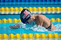 U.S. Army Staff Sgt. Elizabeth Marks swims during the 2016 Invictus Games (26925389736).jpg