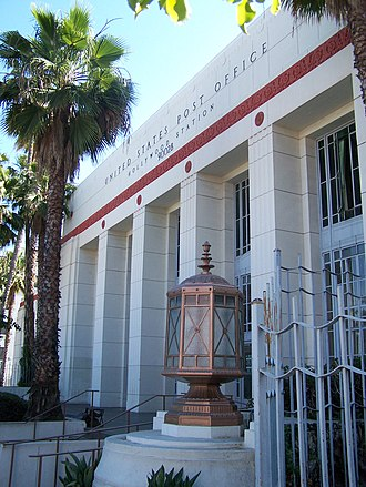 United States Post Office (Hollywood, California) - U.S. Post Office Hollywood