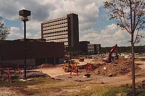 Bill Greiner - UB Student Union Construction, 1991