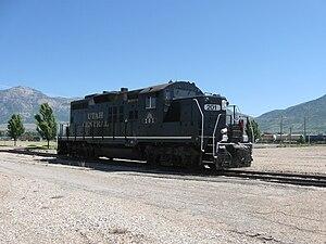 Utah Central Railway (1992) - Image: UCRY201