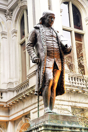 Richard Saltonstall Greenough - Image: USA Benjamin Franklin Statue 0