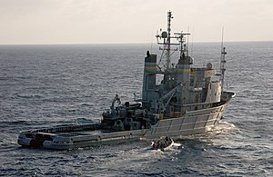 USNS Apache (T-ATF-172) - USNS Apache in the Atlantic Ocean