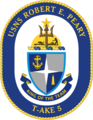 USNS Robert E. Peary T-AKE-5 Crest.png