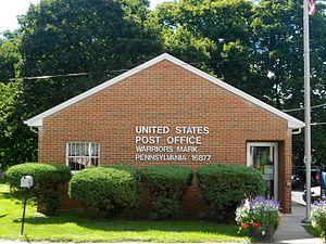 Warriors Mark Township, Huntingdon County, Pennsylvania - Image: USPO Warriors Mark PA 16877