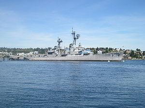 USS Turner Joy - Turner Joy, retired and docked in Bremerton, 2006.