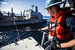 USS Bataan practices ship-to-ship refueling during PMINT 130920-M-WH399-034.jpg