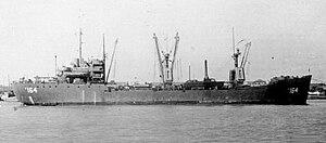 USS Brevard (AK-164) - Image: USS Brevard (AK 164) crop