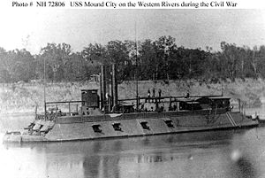 USS Mound City, circa 1864-65