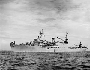 USS Pine Island (AV-12) - USS Pine Island