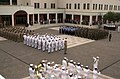 US Navy 050909-N-9580K-002 Naval Support Activity (NSA), Naples holds a memorial service remembering those who died on September 11, 2001.jpg