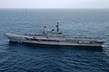 US Navy 050925-N-0413R-043 The Indian aircraft carrier CVH Viraat (R 22) underway in the Indian Ocean as part of exercise Malabar 2005.jpg