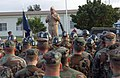 US Navy 070615-N-4198C-005 Master Chief Petty Officer of the Navy (MCPON) Joe R. Campa Jr. visits with Seabees from Naval Mobile Construction Battalion (NMCB) 3 and Naval Mobile Construction Battalion (NMCB) 7 during the battal.jpg