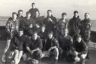 United States Navy SEALs - Members of SEAL Team 4 immediately before the start of Operation Just Cause