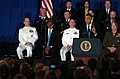 US Navy 110805-N-KV696-083 President Barack Obama speaks to service members from the National Capital Region during a visit to the Washington Navy.jpg