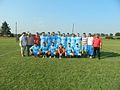 Unirea players and coaching staff.jpg