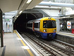Unit 378141 at Rotherhithe