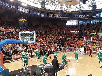Valencia Basket - Image: VBC Kazan Eurocup finals 2014 40