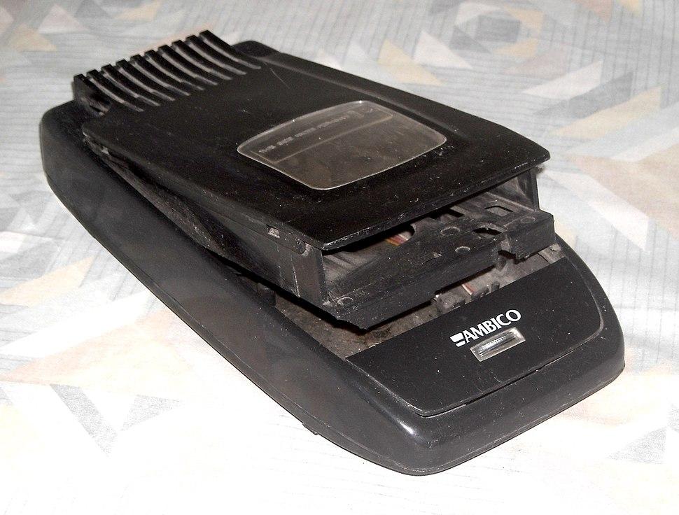 VHS tape rewinder