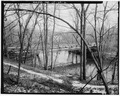 VIEW NORTHEAST SHOWING SOUTH ELEVATION - Toelles Road Bridge, Spanning Quinnipiac River, Wallingford, New Haven County, CT HAER CONN,5-WALF,5-2.tif