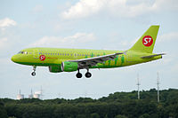 VP-BTV - A319 - S7 Airlines