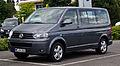 VW Multivan 2.0 TDI Comfortline (T5, Facelift) – Frontansicht, 21. Juli 2012, Velbert.jpg