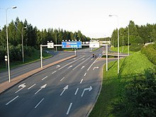 Valtatie 4 Oulu