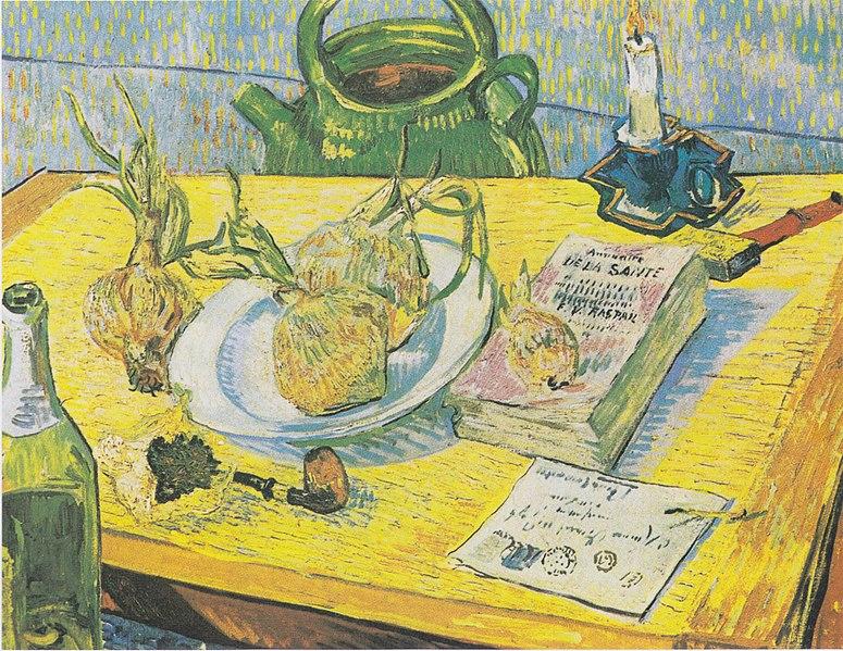 File:Van Gogh - Stillleben mit Zeichenbrett, Pfeife, Zwiebeln und Siegellack.jpeg