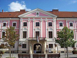 Varaždinska županija, sjedište