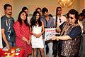 Varun Khandelwal, Pooja Gujral, Kavi Shastri, Shenaz Treasuryvala, Barun Sobti, Bappi Lahiri at the launch of 'Main Aur Mr. Riight' (5).jpg