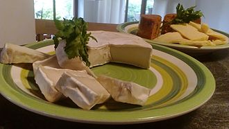 Vegan cheese - Vegan cheese made from cashew and almonds