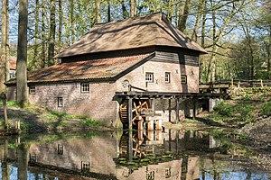 Netherlands Open Air Museum - Image: Veluwse Papiermolen, Openluchtmuseum Arnhem