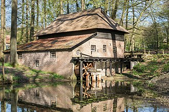 Paper mill - Dutch paper mill from 1654 in the Arnhem open-air museum