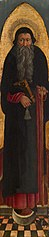 Saint Anthony Abbot from an Augustinian altarpiece