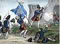 Venetian grenadiers attack an Ottoman fort, 1717.jpg