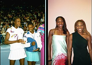 Williams sisters doubles partnership between Venus and Serena Williams