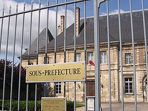 Subprefecture - 'Sous-préfecture' in Verdun, France