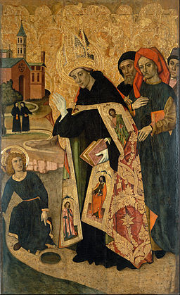 Vergós Group - Saint Augustine Meditates on the Trinity when the Child Jesus Appears before him - Google Art Project